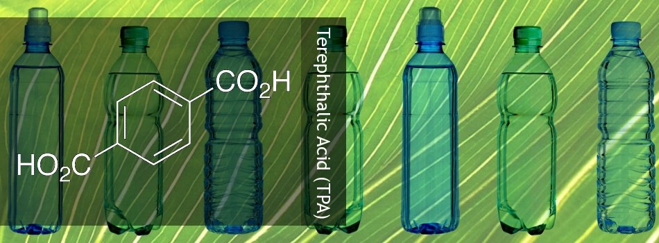 Terephthalic acid is a commodity chemical, used as a precursor to the polyester PET for clothing and plastic bottles